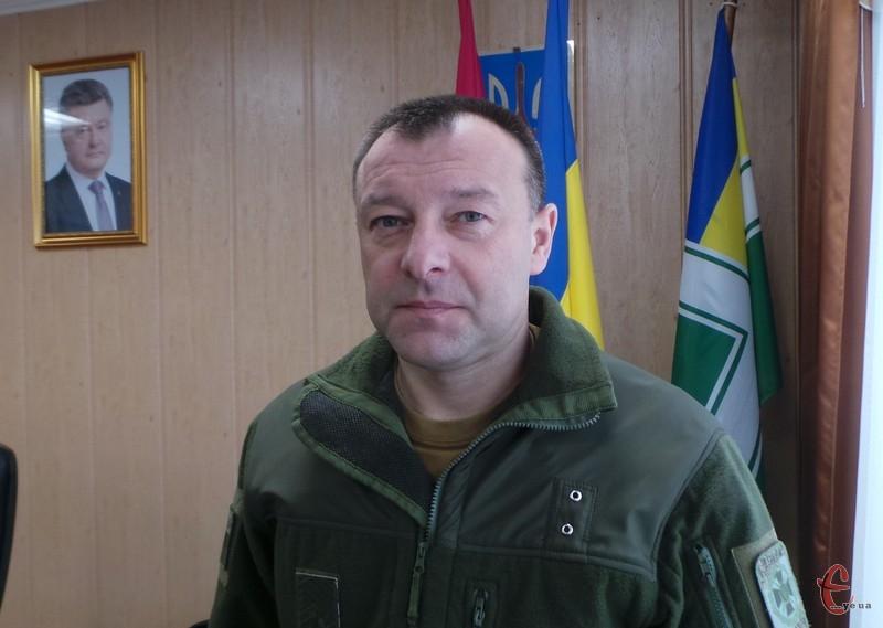 Олег Шинкарук: ми боремося з офіцерами, які дозволяють собі протиправні дії.