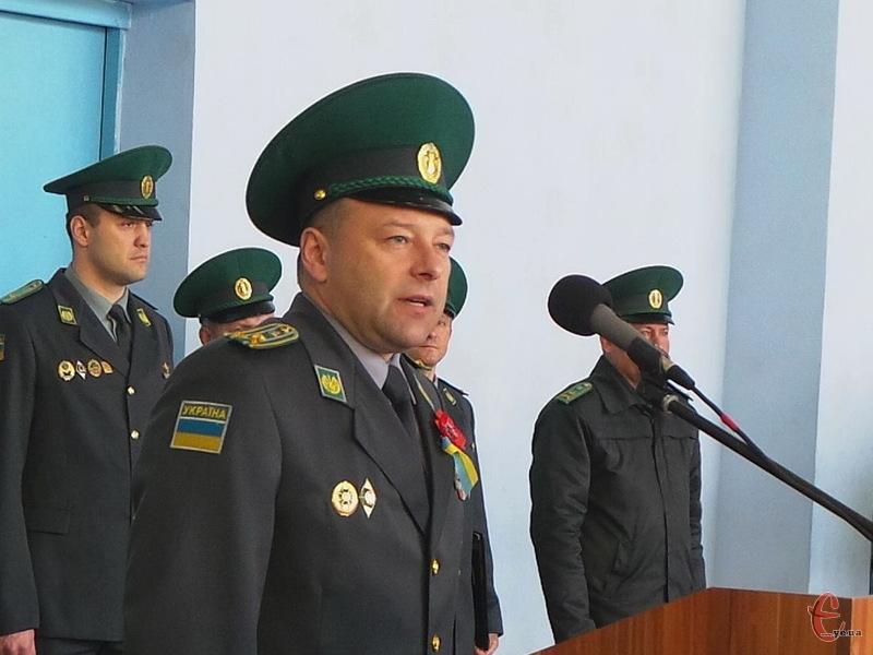 Олег Шинкарук відтепер не полковник, а генерал-майор