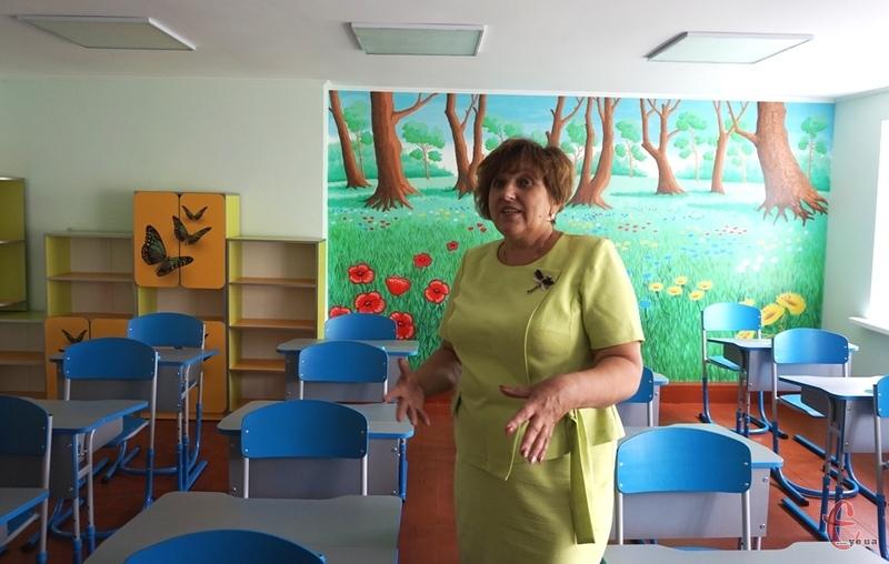 Класи до навчального року готові, каже Маргарита Медведюк