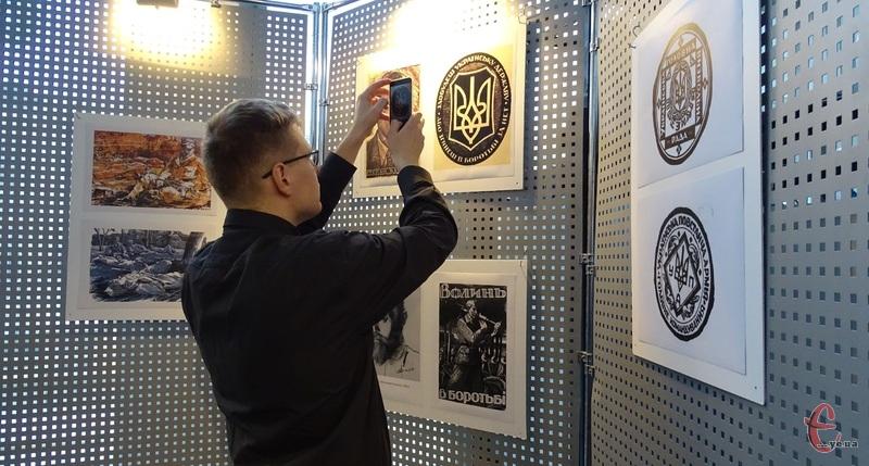 Репродукція робіт Ніла Хачевича представлена у музеї історії міста Хмельницького