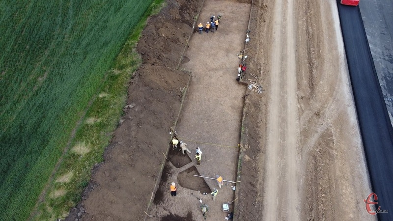 Найдавніший виявлений археологами тут матеріал належить до культури лінійно-стрічкової кераміки