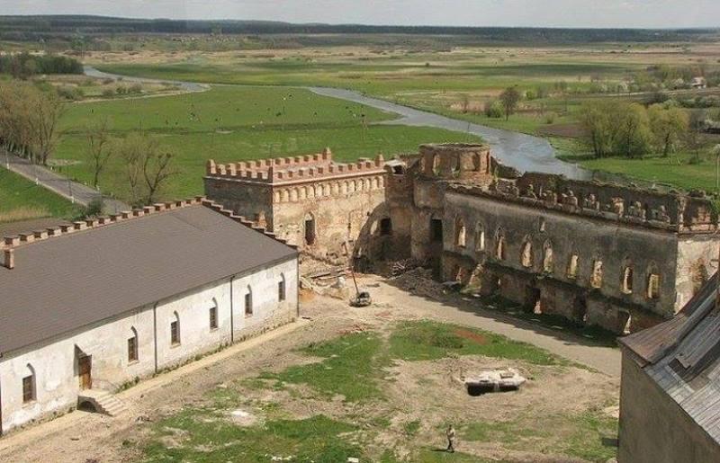 Торік тут зафіксували археологічний об'єкт, який виходить назовні фортеці