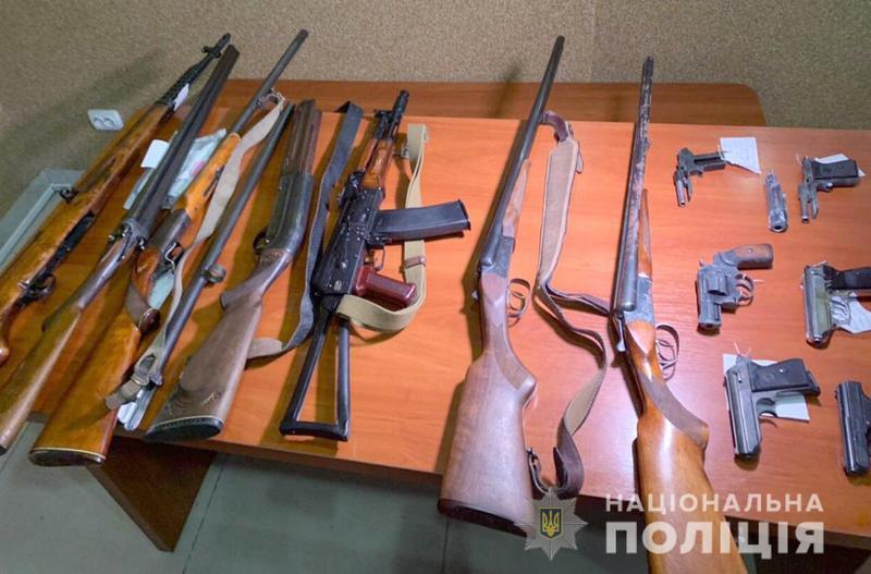 Впродовж місячника хмельничани здали 205 одиниць зброї