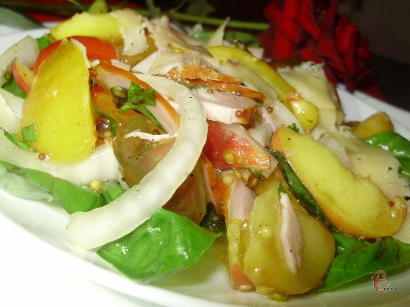 Цікаве поєднання інгредієнтів дає несподівано приємний і оригінальний смак.