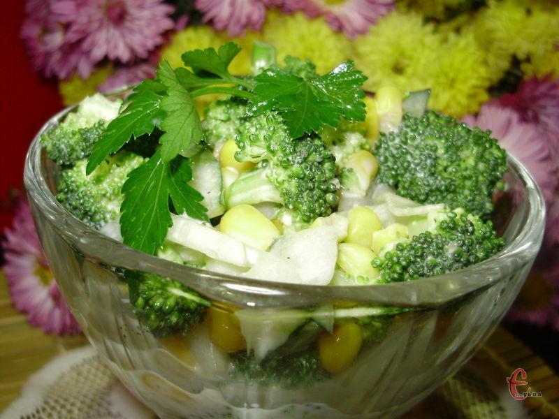 Салат із категорії «гості на порозі» - швидкий, смачний та корисний.