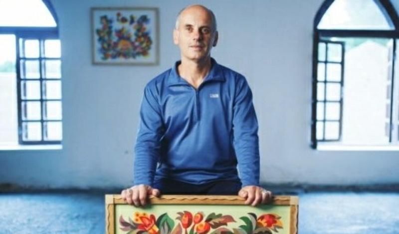 Віктор Раковський, член Національної Спілки майстрів народного мистецтва України, береже і популяризує це мистецтво