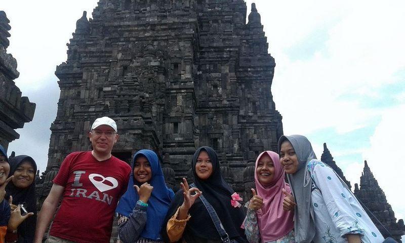 В Індонезії, храмовий комплекс Прамбанан