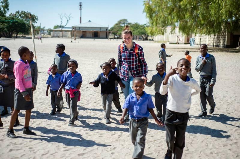 Катерина Мельник провела в Африці близько п'яти місяців