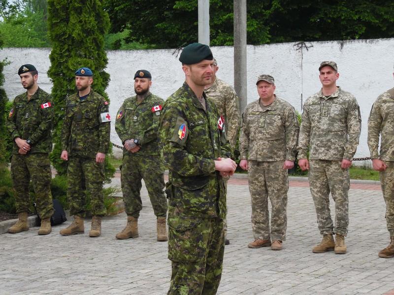 На Хмельниччині стартував 6-тижневий курс підготовки саперів за стандартами НАТО