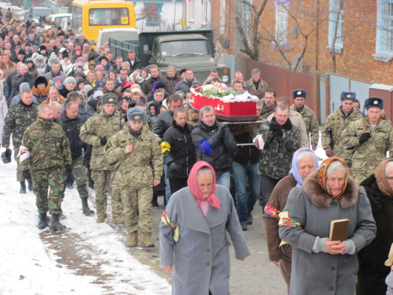 Поховали Віталія Крижака у рідному селі Требухівці Летичівського району.
