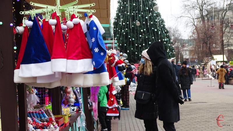 Планують, що Різдвяний ярмарок працюватиме до 24-25 січня
