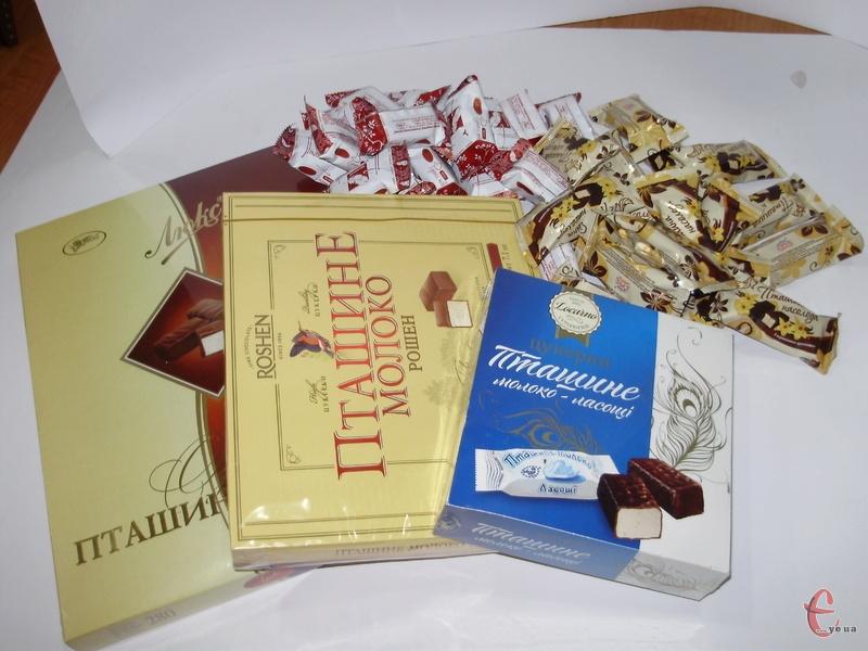 Працівники редакції в рамках чергової дегустації вирішили продегустувати класичні цукерки родом із дитинства.