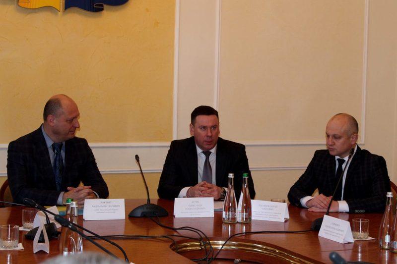 Сергій Палатов (праворуч) очолив територіальне управління Державного бюро розслідувань