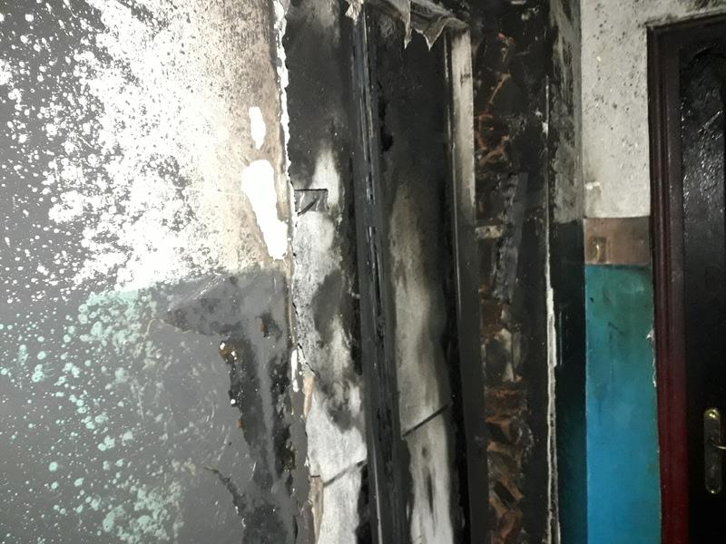 Рятувальники ліквідували пожежу у дев'ятиповерхівці