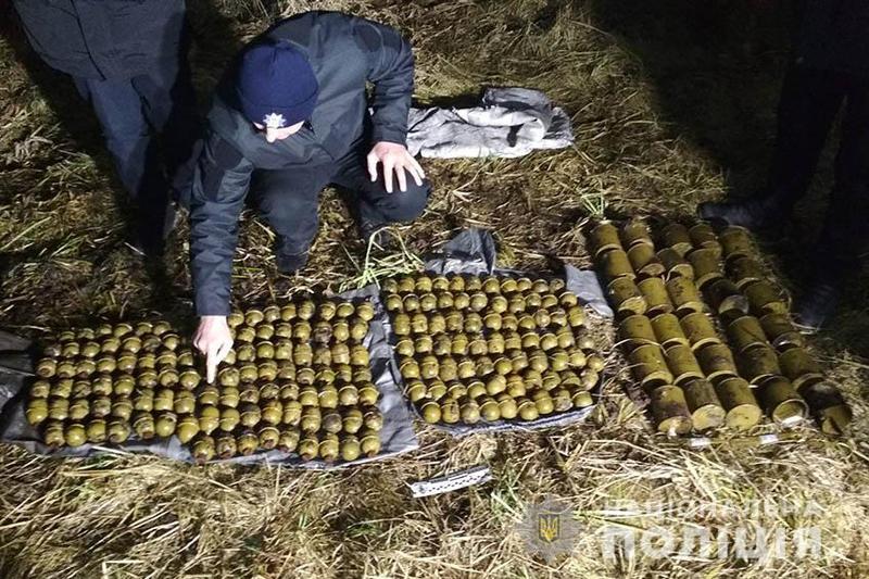 Поліцейські відкрили кримінальне провадження за фактом виявлення великої кількості боєприпасів