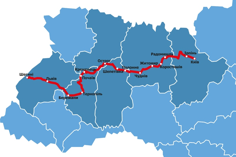 Їхатимуть велосипедисти до Києва