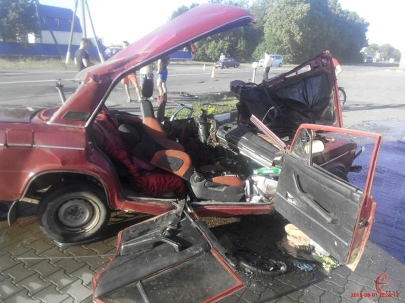 В аварії загинув міліціонер, його дружина та маленька дитина