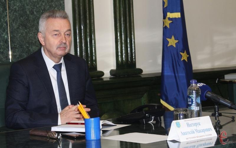 Анатолія Нестерука міський голова звільнив з 16 листопада