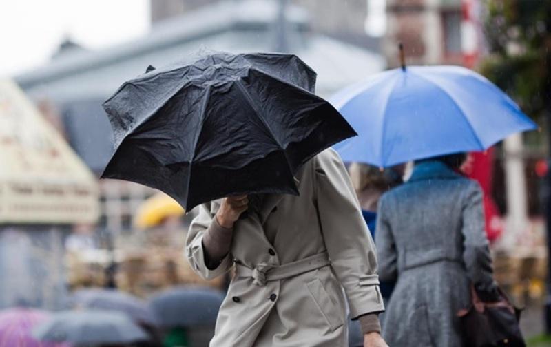 Очікується дощ, місцями гроза