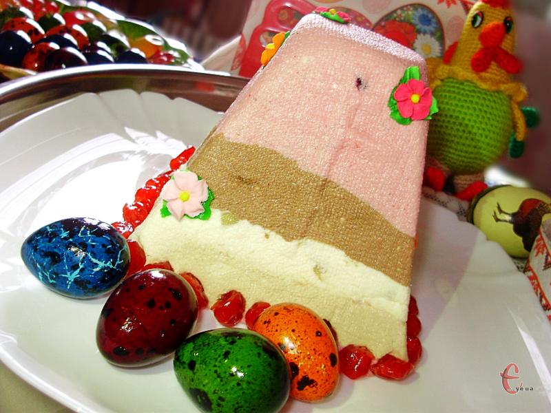 Чотири смаки в одному великодньому смаколику, чотири десерти на одній тарілці!