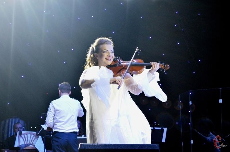 Скрипалька виступить в обласній філармонії