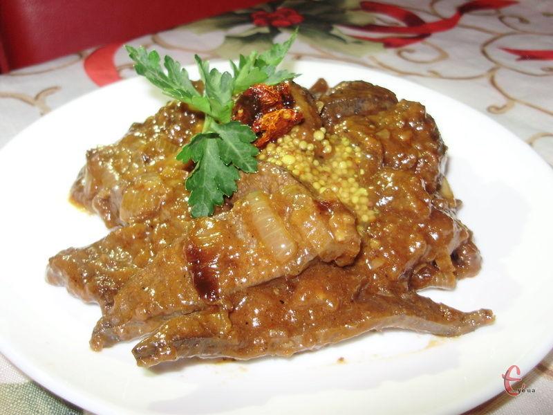 Неймовірно ніжна, м'яка та водночас незвична печіночка, із пікантним східним смаком!