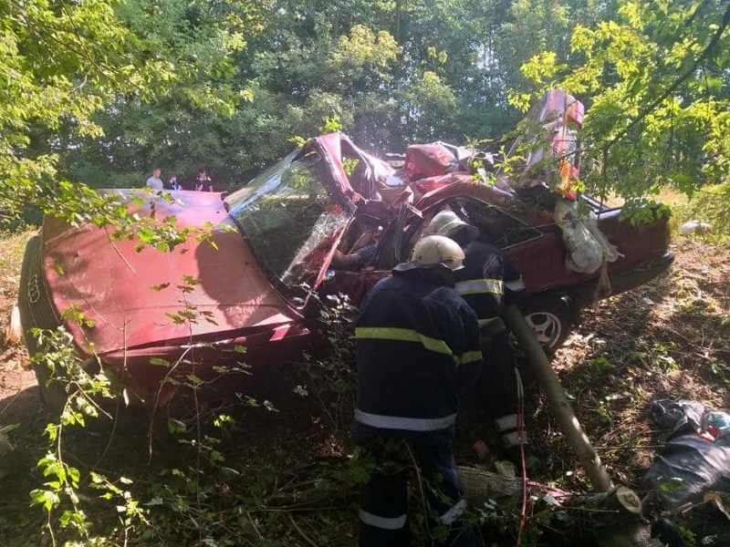 Аварія відбулася близько 14:40