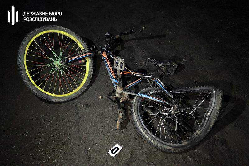 Велосипедистка загинула на місці події