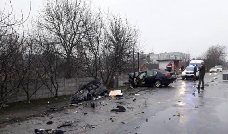 У Любарі поліцейські розслідують загибель чотирьох людей у результаті ДТП