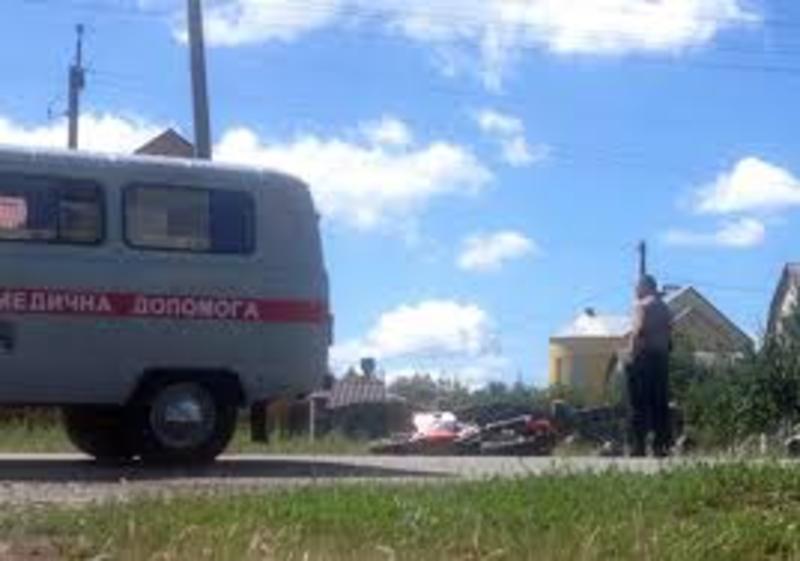 Водій скутера загинув на місці