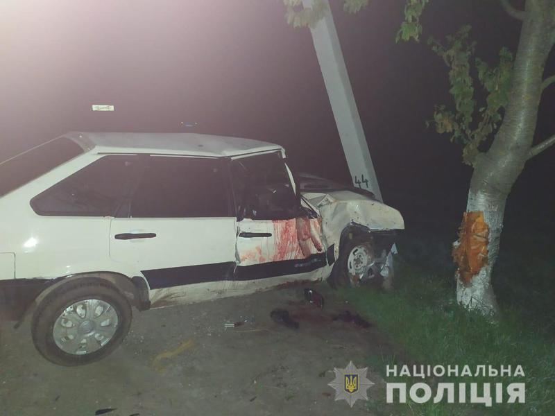 У ДТП загинув пасажир