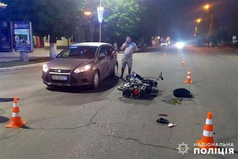 ДТП сталася 12 липня на перехресті вулиць Незалежності та Слави