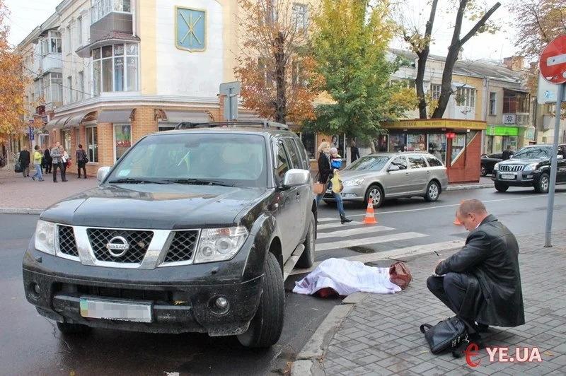 Аварія сталася 16 жовтня 2014 року на перехресті Володимирської та Соборної