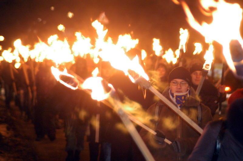 Через проведення смолоскипного маршу у центрі Хмельницького обмежать рух