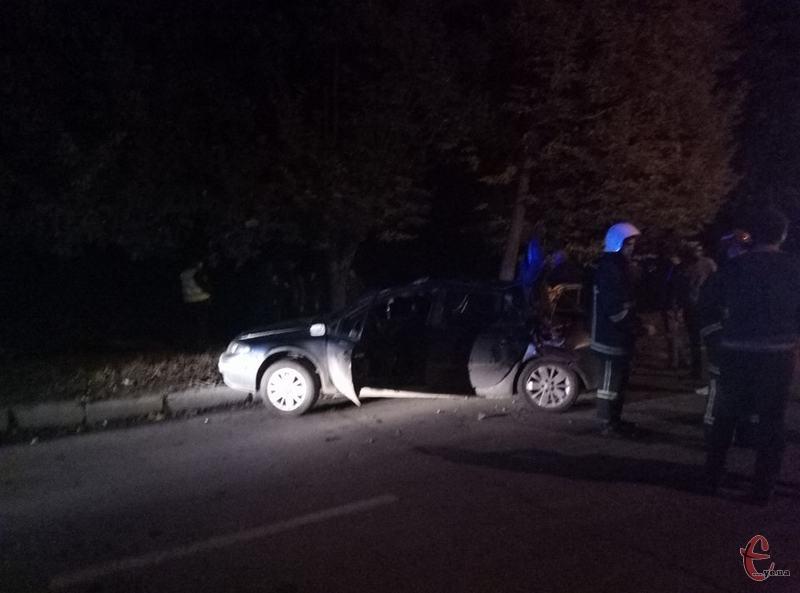 За один вечір у Хмельницькому сталося три ДТП