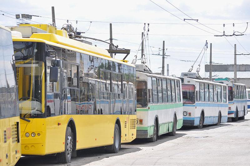 29 серпня деякі тролейбуси рухатимуться за іншими маршрутами