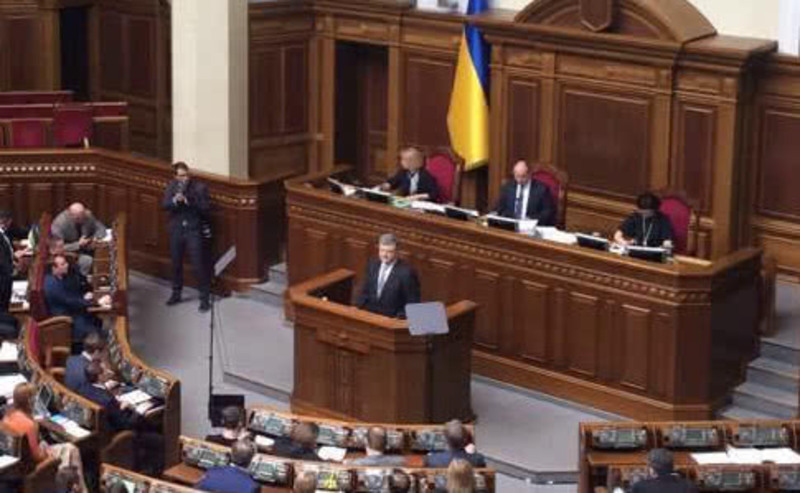 За звернення щодо автокефалії Православної церкви в Україні проголосували 268  народних обранців.