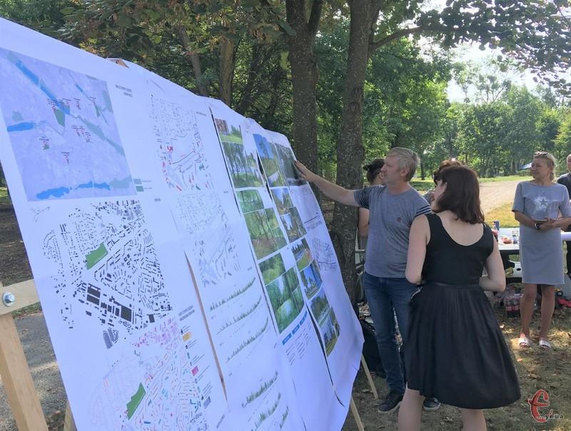Хмельничани говорили про парк Подільський