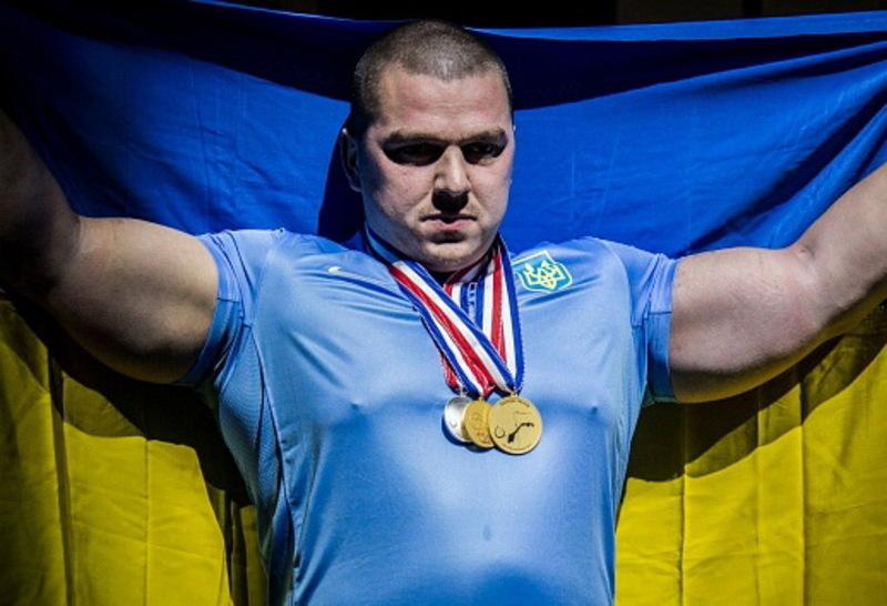 Вадим Довганюк поліпшив свій світовий рекорд на 7,5 кілограмів