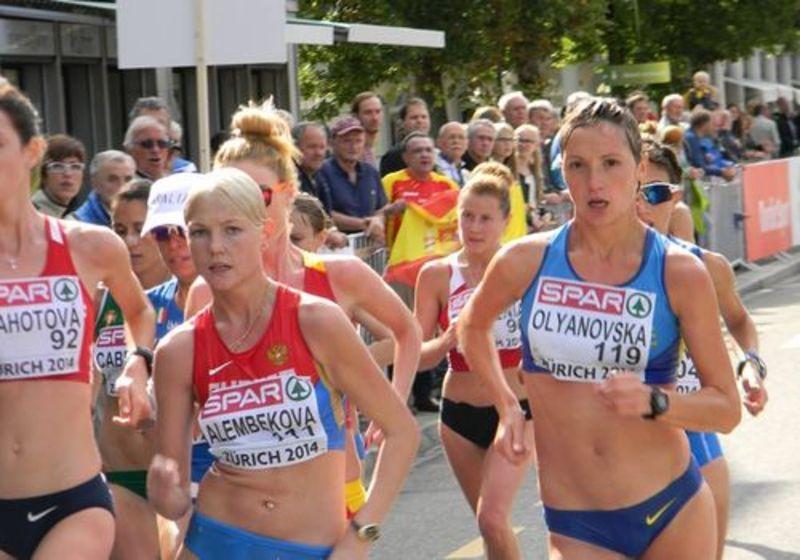 На змаганнях Людмила Оляновська стала четвертою в командному і сьомою в індивідуальному заліку