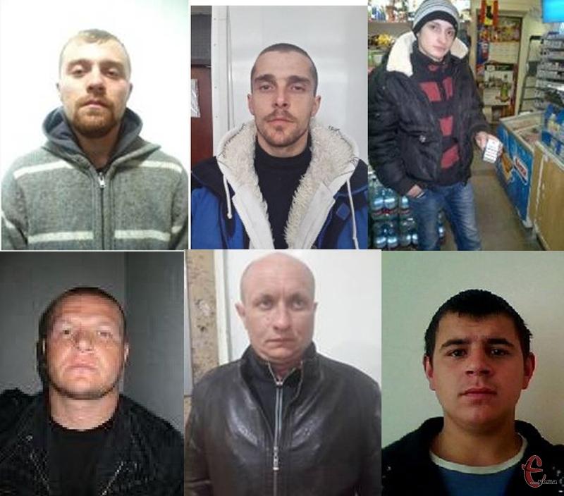 Усім шістьом втікачам загрожує чималий термін ув'язнення