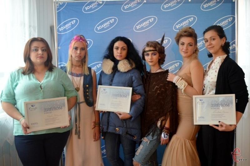 Призери півфіналу конкурсу перукарів у Хмельницькому