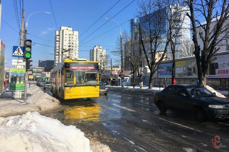Тролейбус №19 вийде на маршрут 3 березня