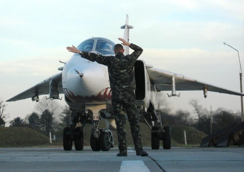 У бригаді тактичної авіації імені Петра Франка відбулись льотні зміни