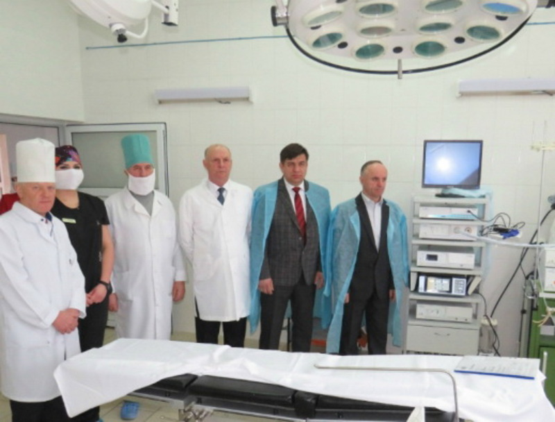 Артроскоп та додаткове операційне обладнання придбали за кошти районного бюджету