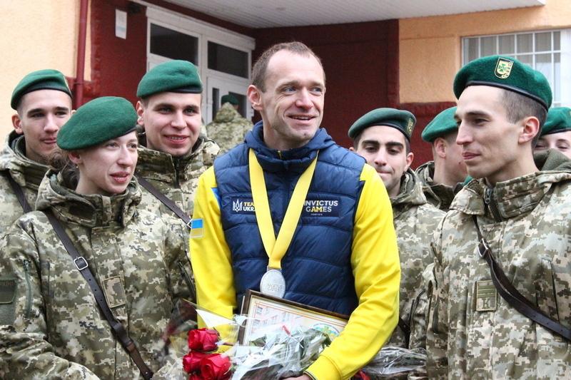 Срібний призер минулорічних Ігор нескорених Віктор Шинкарук