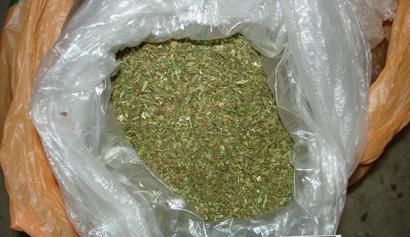 Під час обшуку правоохоронці знайшли та вилучили у полончанки пакет із понад 300 грамами канабісу