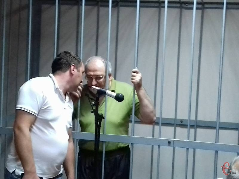 Суд вирішив залишити Дьяченка під вартою до 25 вересня.