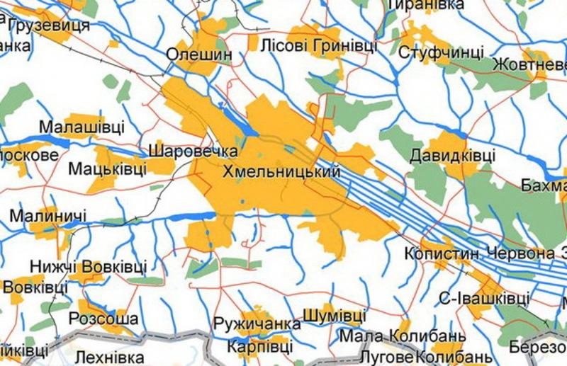 Площу міста планують збільшити на 1 300 гектарів