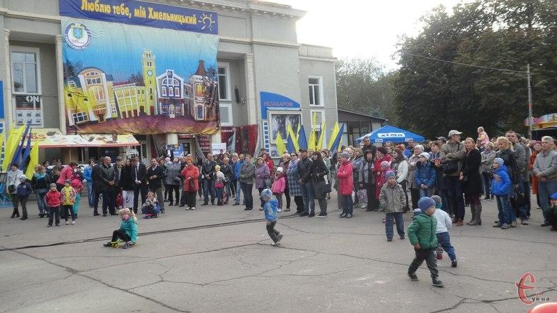 Загалом святкування Дня міста у Хмельницькому пройшло спокійно, без надзвичайних пригод